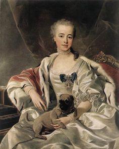 Catherina Golitsyna, first half of 18th century, Louis-Michel van Loo
