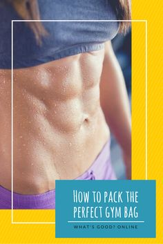 Need help deciding what to take to the gym? We've put together an handy gym bag checklist to help you pack the perfect bag. Plus, useful organization tips, hacks and must haves for men and women. Health & Fitness