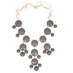 Grey Boheme Necklace