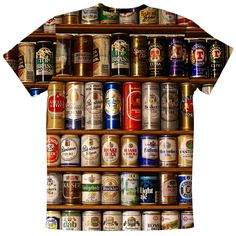 New Fashion beers Mens T-Shirt Tshirt O-Neck Normal  Summer  Personality Fashion men t-shirts