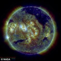 Watch the sun FLIP (but don't panic, its just Nasa repositioning its solar observatory) | Daily Mail Online