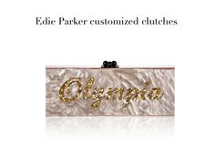 Edie Parker customised clutches