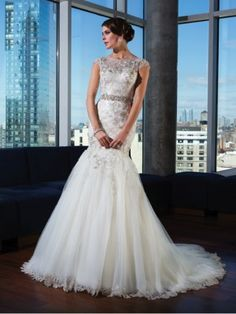 Justin Alexander Signature collection elegant wedding dress