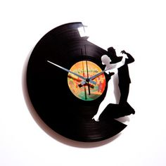 Tango Clock now featured on Fab. I'd like a ballet dancer one of these... :)