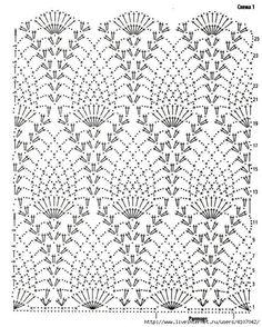 Photo from album Gilet Crochet, Crochet Wool, Crochet Shirt, Diy Crochet, Crochet Baby Dress Pattern, Crochet Motif Patterns, Knitting Patterns, Crochet Stitches Chart, Crochet Diagram