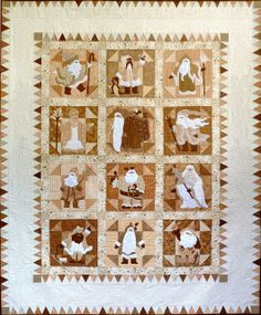 Sue Garman's wide border leaves plenty of space for quilting