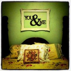 """headboard""...with the kids name and/or collage of what they love?"
