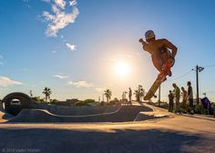 Taking flight at Romano Skate Park