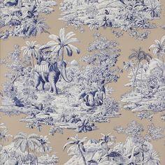 Papier peint Bengale - Papiers peints par éditeurs/Manuel Canovas - Le Boudoir des Etoffes