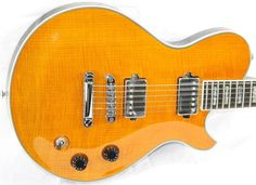2010 Michael Kelly Patriot Custom Flame Top Electric Guitar Rockfield Pickups