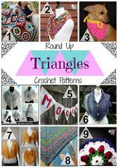 Triangle Crochet Pattern Round Up from Jessie At Home