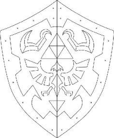 escudo de zelda para IMPRIMIR - Buscar con Google