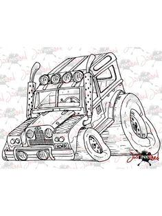 Wacky Land Rover