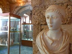 Archaeological Museum of Chania Crete, Beautiful Islands, Old Town, Museums, Old Things, Sculpture, Statue, Sculpting, Old City