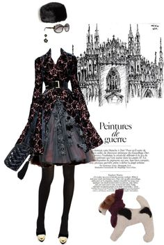 """""""Baroquely yours"""" by pensivepeacock ❤ liked on Polyvore"""