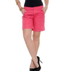 Bermuda feminina lisa | Social | De Mulher Para Mulher, Marisa Lisa, Bermuda Shorts, Social, Sewing, Fashion Design, Women, Bermuda Shorts Women, Cute Outfits, Woman
