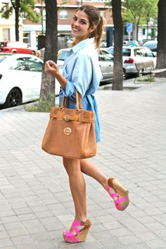 Let me have those shoes and I'll take the bag too....