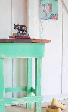Vintage Upcycled Furniture.  Handmade home ideas.