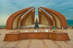 Monument of Pakistan at Islamabad Pakistan