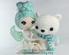 PATTERN: Chrysanna the Albino Fairy Crochet by epickawaii on Etsy