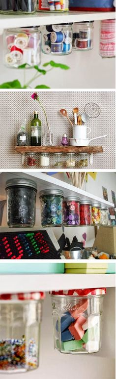 Reciclar botes de cristal para decorar tu casa