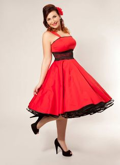 50 černá spodnička šaty červené večerní šaty Stiles 1f1972d8f4e