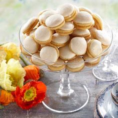 Lemon Curd Filling, Something Sweet, Hot Chocolate, Waffles, Biscuits, Snack Recipes, Goodies, Chips, Food And Drink