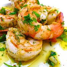 Garlic Prawns   Easy, healthy and a great source of protein for muscle repair and recovery!