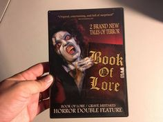 Book of Lore/Grave Mistakes (DVD, 2010) Rare Horror Double Feature OOP Robber