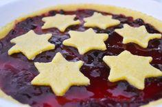 Crostata con le stelle