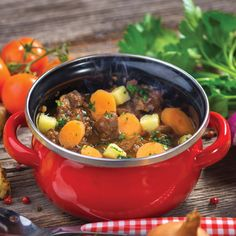 Use up some of your deer meat for dinner tonight with this slow-cooker venison stew.