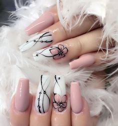 Cute Nail Art Designs, Acrylic Nail Designs, Fancy Nails, Diy Nails, Cute Nails, Manicure Ideas, Diy Manicure, Nail Tips, Nagellack Trends