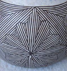 Grace Chino Acoma Pottery Bowl
