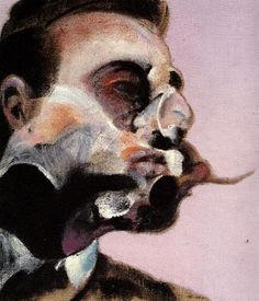 """catacresiduezero: Study For George Dyer by Francis Bacon, 1970 """