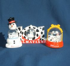 McD's 101 Dalmations collectable happy meal toys still have them