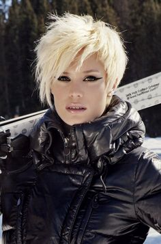 Short hairstyles for thin hair 2013, Chic Hairstyles for New Season 2013