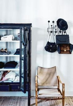 Stylish wardrobe storage and organization for clothes, shoes, hats and bags.