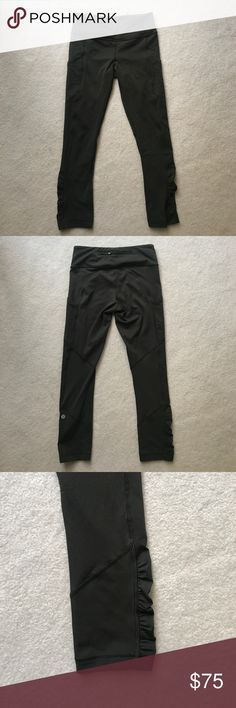 Speed Crop Luxstreme 7/8 length pant lululemon athletica Pants Leggings
