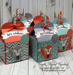 The Scrap n' Stamp Shop: FOXY FRIENDS BIRTHDAY CELEBRATION
