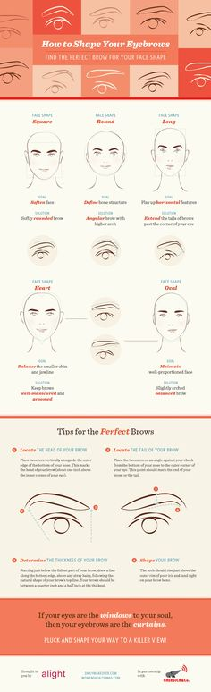 How to Shape your Eyebrows - Oh the lovely things
