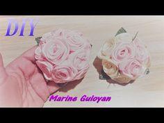 ПЫШНЫЕ РЕЗИНКИ Цветы из Лент✔ Marine DIY Guloyan✔ - YouTube