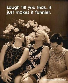 Laugh till you leak - friendship ystävyys Besties, Old Lady Humor, Youre My Person, Thats The Way, Just For Laughs, Getting Old, Friendship Quotes, Happy Friendship, Old Women