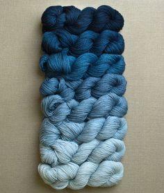 Cashmere Ombré Wrap | Purl Soho - Create