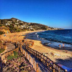 Coastline view from the Montage Resort in Laguna Beach.