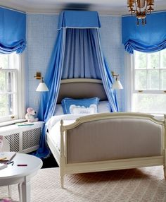 This is an adorable French inspired kids bedroom.  This room has style and flare.  Great design!  Baronessa Home Furnishings and Accessories boasts a beautiful online showroom, which is a combination of custom made, vintage, and antique luxury home furnishings and accessories. Visit our website at www.ShopBaronessa.com.