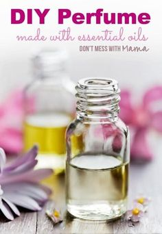 How to Make DIY Perfume Roll-On with Essential Oils #DIY #essentialoils - DontMesswithMama.com