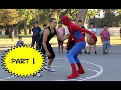 Watch Streetballer Grayson 'The Professor' Boucher Own People On The Basketball Court As Spiderman [Video]