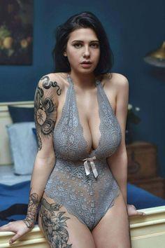 Rackt Tatting, Tattoos For Women, Girl Tattoos, Inked Girls, Bodysuit, One Piece, Sexy Lingerie, Swimwear, Beautiful