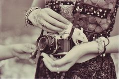My two favorite things, rats, and cameras :)