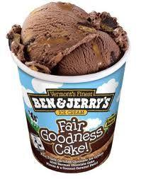 The Ice Cream Snob: Ice cream review: Ben & Jerry's Fair Goodness Cake!